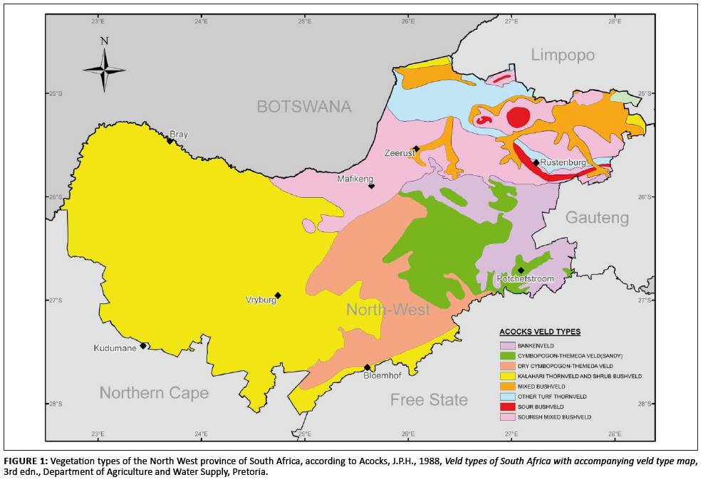 Survey Of The Livestock Ticks Of The North West Province South